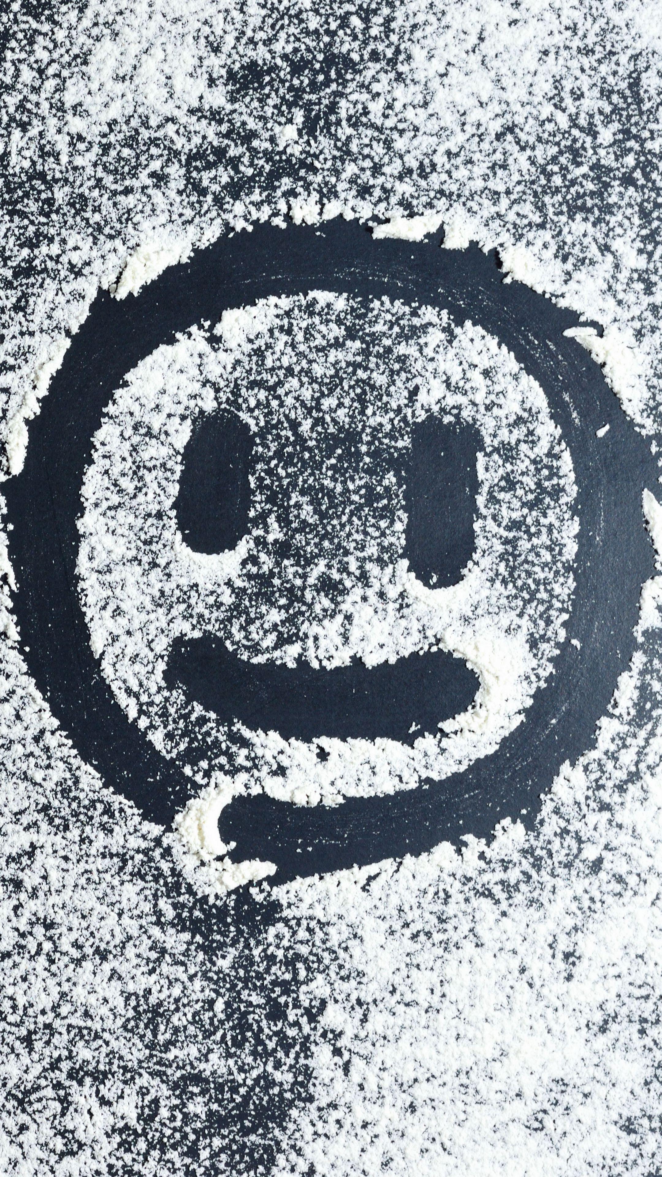 2160x3840 Wallpaper smiley, smile, powder