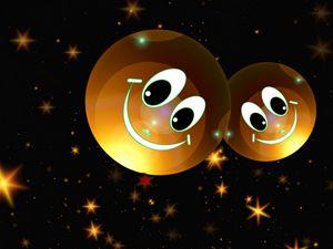 Preview wallpaper smileys, stars, happy, smile