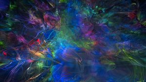 Preview wallpaper smoke, bends, colorful, abstraction