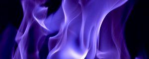 Preview wallpaper smoke, fire, color, purple