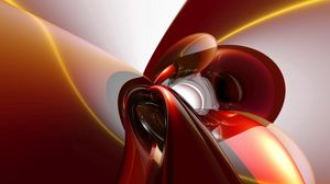 Preview wallpaper smooth, light, red, orange