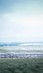 Preview wallpaper snow, golf, winter, sky, mist