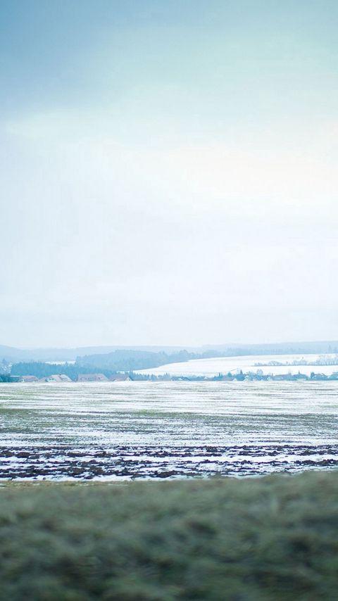 480x854 Wallpaper snow, golf, winter, sky, mist
