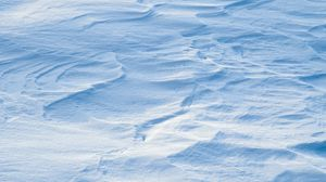Preview wallpaper snow, surface, white, winter