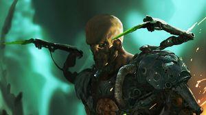 Preview wallpaper soldier, armor, equipment, art