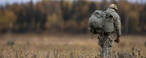 Preview wallpaper soldier, military, camouflage, army