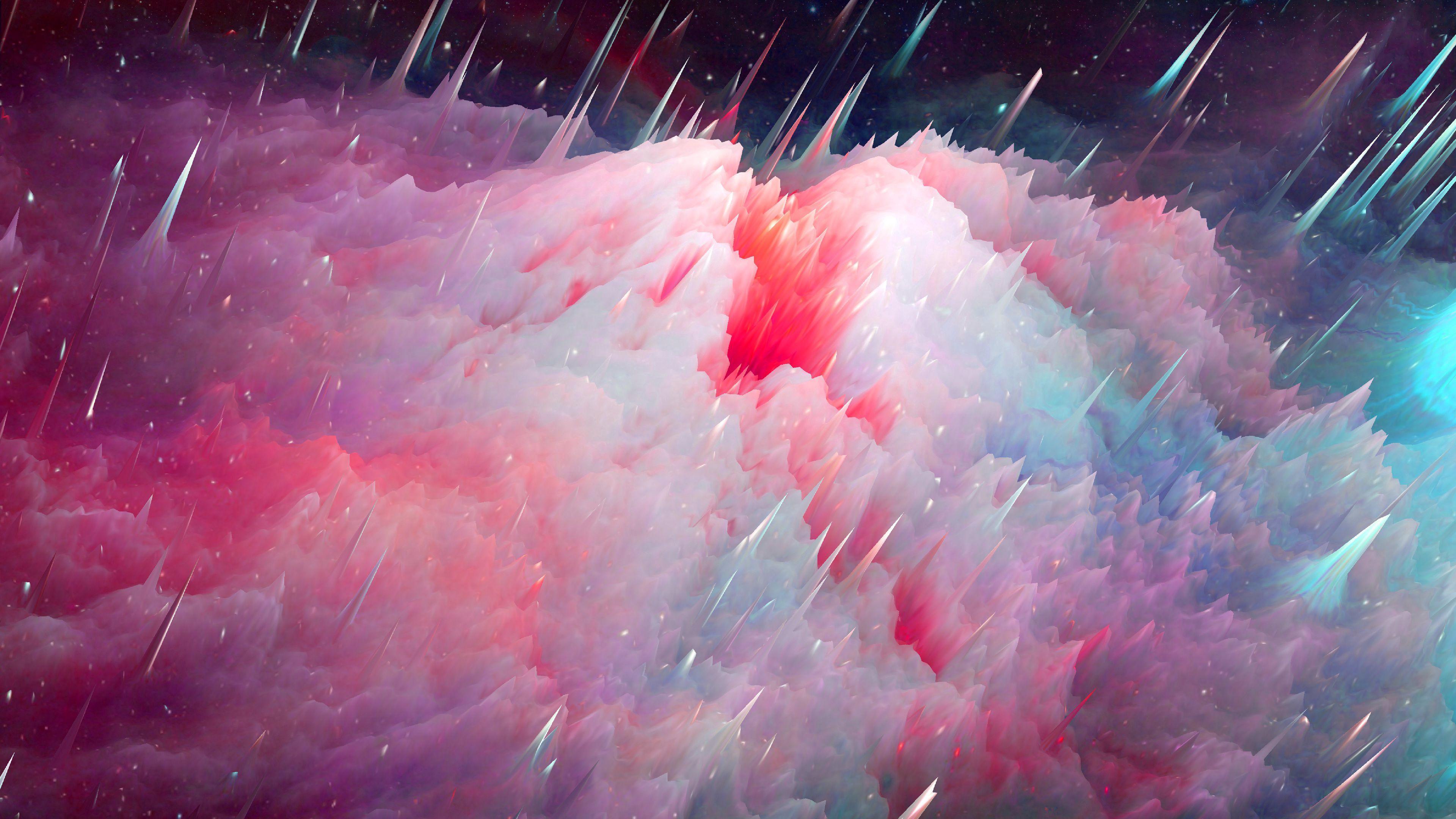 3840x2160 Wallpaper space, art, nebula, universe