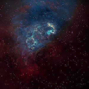 Preview wallpaper space, galaxy, universe, stars, shine