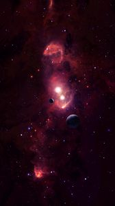 Preview wallpaper space, planets, cosmic space, galaxy, universe, stars