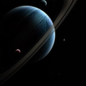 Preview wallpaper space, planets, shine, galaxy, dark, universe