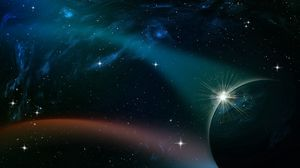 Preview wallpaper space, sky, planets, stars, moons