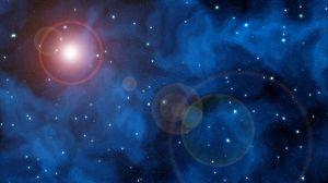 Preview wallpaper space, sky, stars, glare