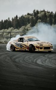 Preview wallpaper sports car, drift, race, tuning