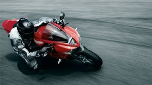 Preview wallpaper sports, motorcycle, road, people, speed