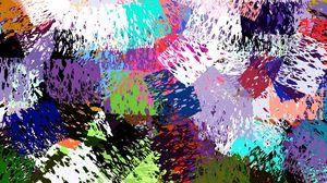 Preview wallpaper spots, colorful, blot, dot, texture