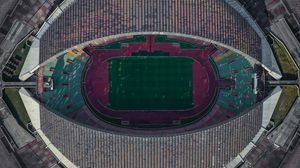Preview wallpaper stadium, aerial view, architecture