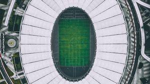 Preview wallpaper stadium, architecture, top view, kuala lumpur, malaysia