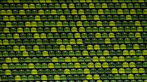 Preview wallpaper stadium, chairs, green, shades