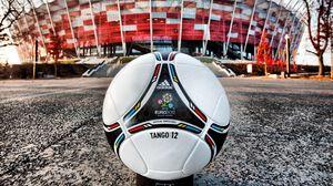 Preview wallpaper stadium, leather, ball, euro 2012