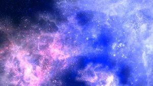 Preview wallpaper star, galaxy, glow, light