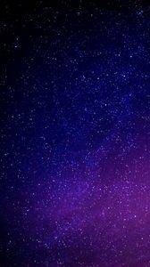 Preview wallpaper starry sky, galaxy, glitter, night