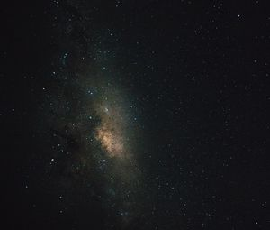 Preview wallpaper starry sky, galaxy, universe, sky, night
