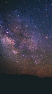 Preview wallpaper starry sky, universe, galaxy