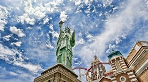 Preview wallpaper statue of liberty, new york, united states of america, hdr