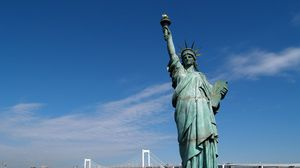 Preview wallpaper statue of liberty, united states, new york