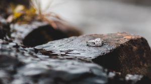 Preview wallpaper stone, ring, diamonds, jewel, jewelry