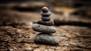 Preview wallpaper stones, balance, harmony, surface