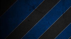 Preview wallpaper stripes, blue, black, white