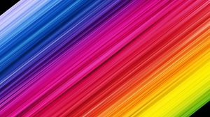 Preview wallpaper stripes, colorful, rainbow, obliquely
