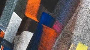 Preview wallpaper stripes, colorful, spots, uneven