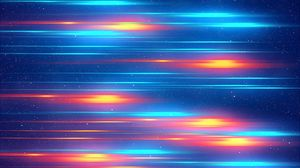 Preview wallpaper stripes, glow, bright, colorful, abstraction
