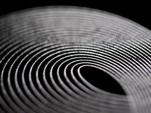 Preview wallpaper stripes, lines, blur, macro, black and white, black