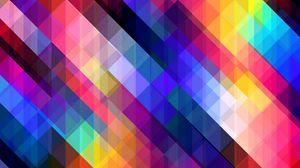 Preview wallpaper stripes, obliquely, multicolored, cubes