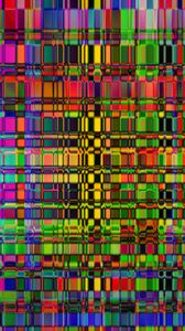 Preview wallpaper stripes, mosaic, distortion, abstraction, colorful