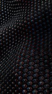 Preview wallpaper structure, relief, wavy, volume, dark