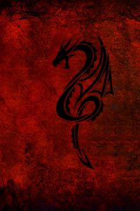 Preview wallpaper style, abstract, dragon