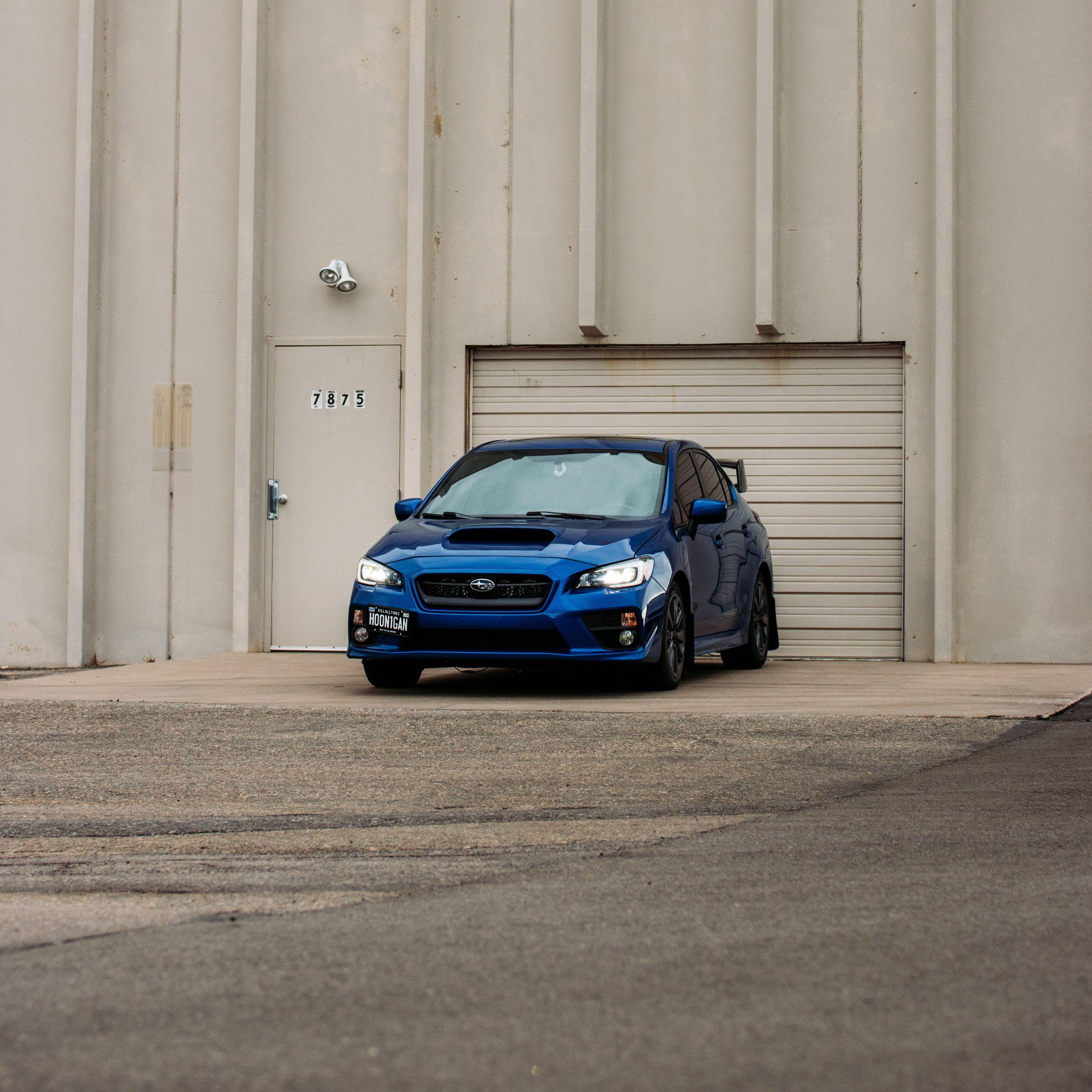 2780x2780 Wallpaper subaru, car, blue, parking, front view