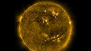 Preview wallpaper sun, energy, light, radiation, space