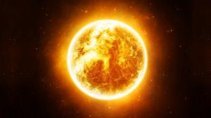 Preview wallpaper sun, stars, space, light