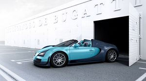 Preview wallpaper supercar, grand sport, vitesse, bugatti veyron