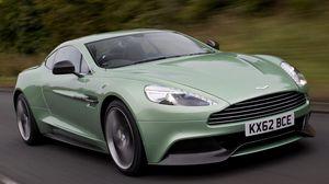 Preview wallpaper supercar, green, aston martin