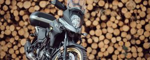 Preview wallpaper suzuki, motorcycle, bike, black