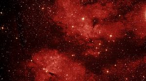 Preview wallpaper swan, lbn 274, space, sky, nebula, constellation