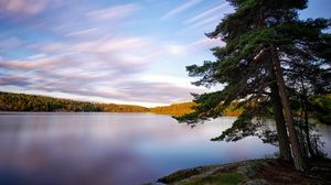 Preview wallpaper sweden, lakes, trees