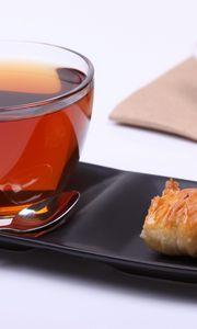 Preview wallpaper tea, cup, snack
