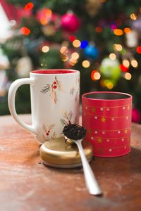 Preview wallpaper tea, cups, spoon, drink